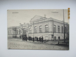 BELARUS  GRODNO VOLKSHAUS   , OLD  POSTCARD , 0 - Belarus