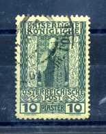 1908-14 LEVANTE N.52 USATO - Oriente Austriaco