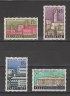 FRANCE / 1958 / Y&T N° 1152/1155 ** : Villes Reconstruites (4 TP) - Gomme D'origine Intacte - France