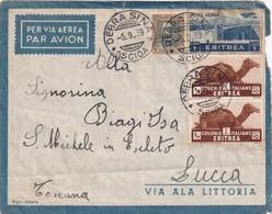ERYTHREE  1939 PLI AERIEN DE DEBRA SINA - Erythrée