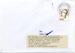 Guerre De Bosnie, Lettre De Kaiserslautern Renvoyé à L'expéditeur 1994. Zurück - [7] République Fédérale