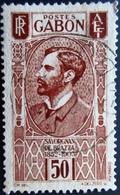 1932 Gabon Yt 136 . Mi 138 . Count Savorgnan De Brazza . Oblitéré - Gabon (1886-1936)