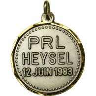 Belgique, Médaille, Parti Libéral, PRL, Heysel, 1983, SUP+, Silvered Bronze - Belgique