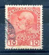 1908-14 UFFICI CRETA N.16 USATO - Oriente Austriaco
