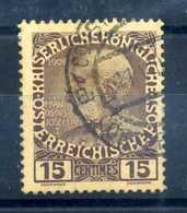 1908-14 UFFICI CRETA N.17 USATO - Oriente Austriaco