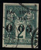GUYANE - N°  1a - (12mm) Surcharge Incomplète - Signé Brun. Très Frais. - Guyane Française (1886-1949)