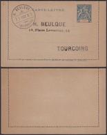 COTE D IVOIRE 1893 EP15c  (5G) DC-1168 - Côte-d'Ivoire (1892-1944)