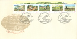 AUSTRALIA  - FDC - 10.5.1989 - PASTORAL ERA - Yv 1113-1117  - Lot 18654 - Premiers Jours (FDC)