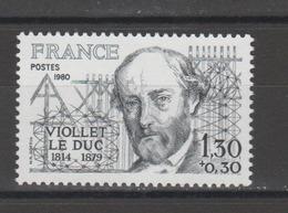 FRANCE / 1980 / Y&T N° 2095 ** : Violet-le-Duc - Gomme D'origine Intacte - France