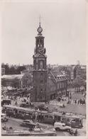 PAYS BA S- HOLLANDE - AMSTERDAM - BUS TRAW  DEVANT MUNTTOREN - Amsterdam