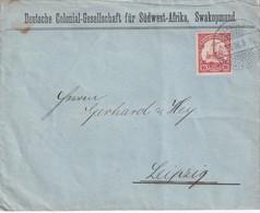 NAMIBIE 1906 LETTRE DE SWAKOPMUND - Colonie: Afrique Sud-Occidentale