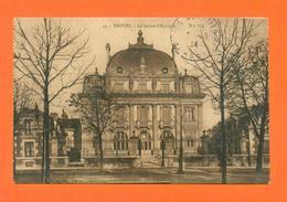CPA FRANCE 10  ~  TROYES  ~  43  La Caisse D'Epargne  ( Magasins Réunis 1914 ) - Troyes