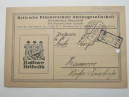 1923 , Gebühr Bezahlt , Beleg Aus  Braunsdorf - Lettres & Documents