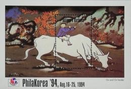 """Antigua 1994 PhilaKorea""""94 S/S - West Indies"""