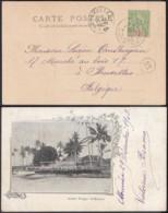 """Nouvelle-Calédonie 1903 - CP """" Grande Pirogue St-Maurice """" (5G) DC1136 - Nouvelle-Calédonie"""