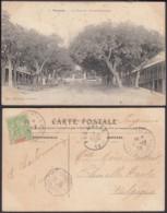 """Nouvelle-Calédonie 1906 - CP Nouméa """" La Rue Du Gouvernement """" (5G) DC1138 - Nouvelle-Calédonie"""