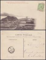 """Nouvelle-Calédonie 1909 - CP """" Tas De Minerai De Cuivre Sur Le Quai De Pam """" (5G) DC1139 - Nouvelle-Calédonie"""