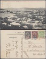 """Nouvelle-Calédonie 1908 - CP Nouméa """" Une Vue Prise Du Quartier Latin """" (5G) DC1142 - Nouvelle-Calédonie"""