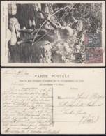 """Nouvelle-Calédonie 1909 - CP Nouelles-Hébrides """" Canaque De Tana """" (5G) DC1143 - Nouvelle-Calédonie"""