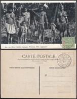 """Nouvelle-Calédonie 1907 - CP """" Une Famille Canaque, Nouméa, Nlle.Calédonie """" (5G) DC1149 - Nouvelle-Calédonie"""