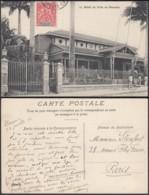 """Nouvelle-Calédonie 1907 - CP """" Hôtel De Ville De Nouméa """" (5G) DC1150 - Nouvelle-Calédonie"""