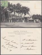 """Nouvelle-Calédonie 1909 - CP """" La Direction Du Port à NOUMEA """" (5G) DC1151 - Nouvelle-Calédonie"""