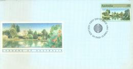 AUSTRALIA  - FDC - 12.4.1989 - GARDEN - Yv 1111 - Lot 18655 - Premiers Jours (FDC)