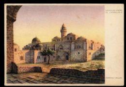 B9571 ISRAEL JUDAICA - DANDOLO BELLINI - JERUSALEM / GERUSALEMME / IL CENACOLO VG - Israele