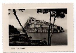 B9578 ISCHIA - PANORAMA DEL CASTELLO B\N - Italia