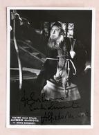 Musica Lirica - Autografo Del Basso Italiano Alfredo Mariotti - Anni '70 - Autografi