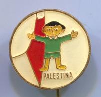 PALESTINA - Enamel, Vintage Pin, Badge, Abzeichen - Associations