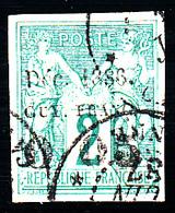 "GUYANE - N°  1b - SANS LE "" F "" - Signé Brun. (un Point Clair). - Guyane Française (1886-1949)"