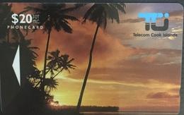 Paco \ ISOLE COOK \ 01C1D \ Sunset In Rarotonga \ Usata - Islas Cook