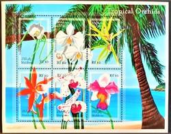 Maldives 2003** Klb.3513-18. Tropical Orchids MNH [10;11] - Orchidées
