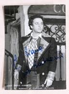 Musica Lirica - Autografo Del Tenore Italiano Paolo Barbacini - Anni '70 - Autografi