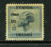 Ruanda-Urundi 1925 COB 76 * - Ruanda-Urundi