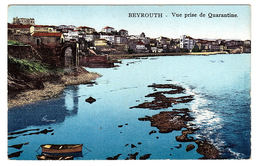 LIBAN - BEYROUTH - Vue Prise De Quarantine - Carte Colorisée - Ed. Sarrafian Bros., Beirut - Liban