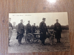 Armée Belge Mitrailleuse - Guerre 1914-18