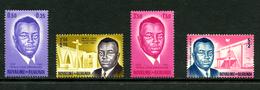 Burundi 1963 : 4 Timbres De COB 43/48 ** - Burundi