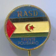 RASD POLISARIO - Vintage Pin, Badge, Abzeichen - Associations