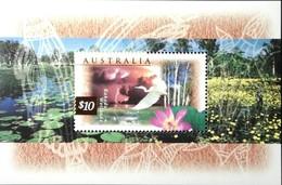 Australia  1996-99 Flora And Fauna S/S - 1990-99 Elizabeth II
