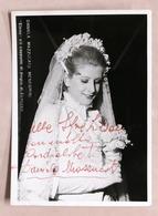Musica Lirica - Autografo Della Cantante Soprano Daniela Mazzucato - Anni '70 - Autographs