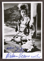 Musica Lirica - Autografo Della Cantante Soprano Wilma Vernocchi - Anni '70 - Autografi