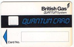 Corps De Carte Epreuve British Gas Quantum Card  Essai Royaume Uni Landis & Gyr - Afrique Du Sud