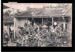CAMBODIA  Cambodge Phnom Penh Fete Chinoise A La Pagode Ca 1910 OLD POSTCARD 2 Scans - Cambodia