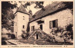 47 - VILLEREAL -- Château De Born - France