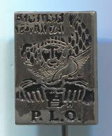 PLO PALESTINA - Palestine Liberation Organization, Vintage Pin, Badge, Abzeichen - Associations