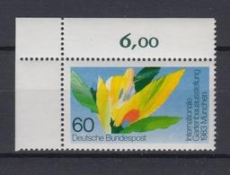 Bund 1174 Eckrand Links Oben Gartenbau Ausstellung München 60 Pf Postfrisch - [7] République Fédérale