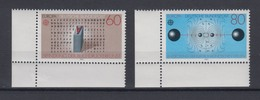 Bund 1175-1176 Eckrand Links Unten Europa Große Werke 60 Pf, 80 Pf ** - [7] République Fédérale