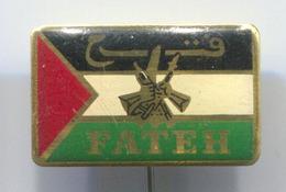 FATEH PALESTINA - Vintage Pin, Badge, Abzeichen - Associations